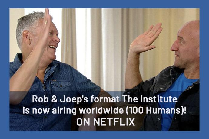 Rob Urgert en Joep van Deudekom op Netflix